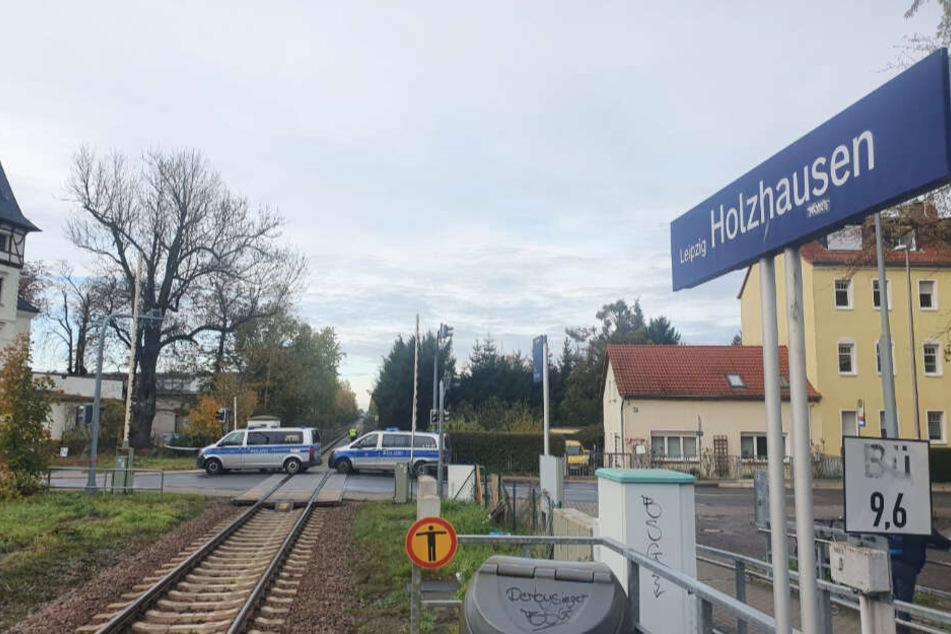 Bei Leipzig-Holzhausen kam es zu dem Unfall.
