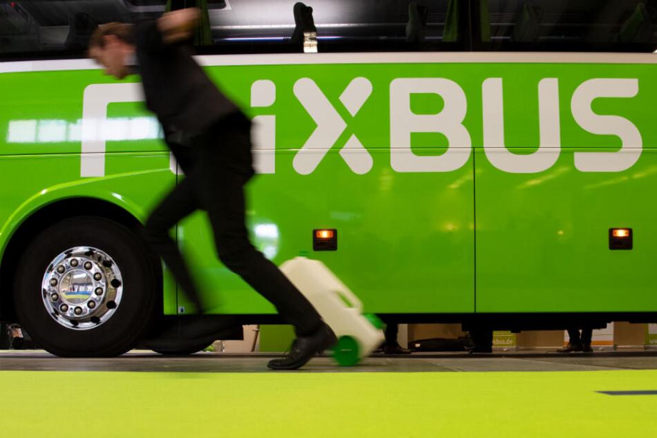 Der Busfahrer des Flixbusses sah keinen Handlungsbedarf. (Symbolbild)