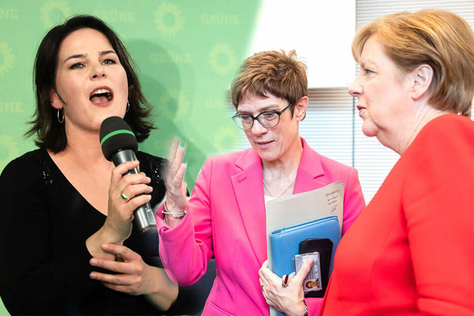Umfrage-Tief für CDU! Die Grünen stärkste Partei in Deutschland