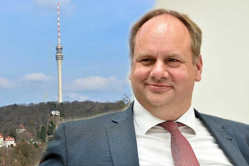 Rettungsplan für Fernsehturm beschlossen: Jetzt ist OB Hilbert ein echter Machthaber