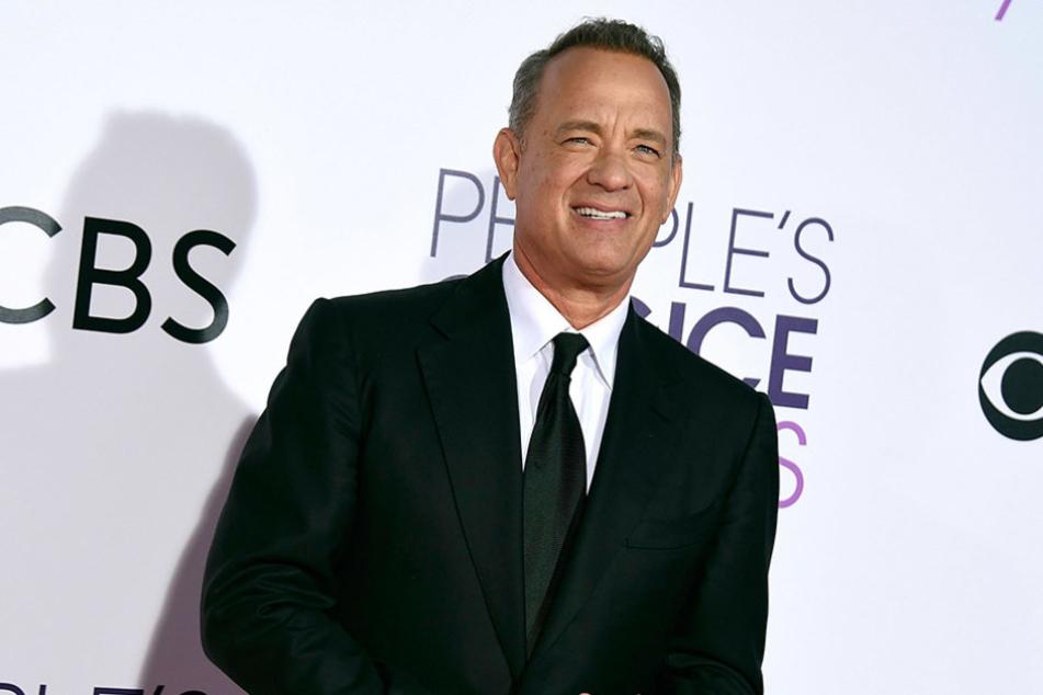 Schauspieler Tom Hanks hat offensichtlich ein Herz für müde Journalisten.