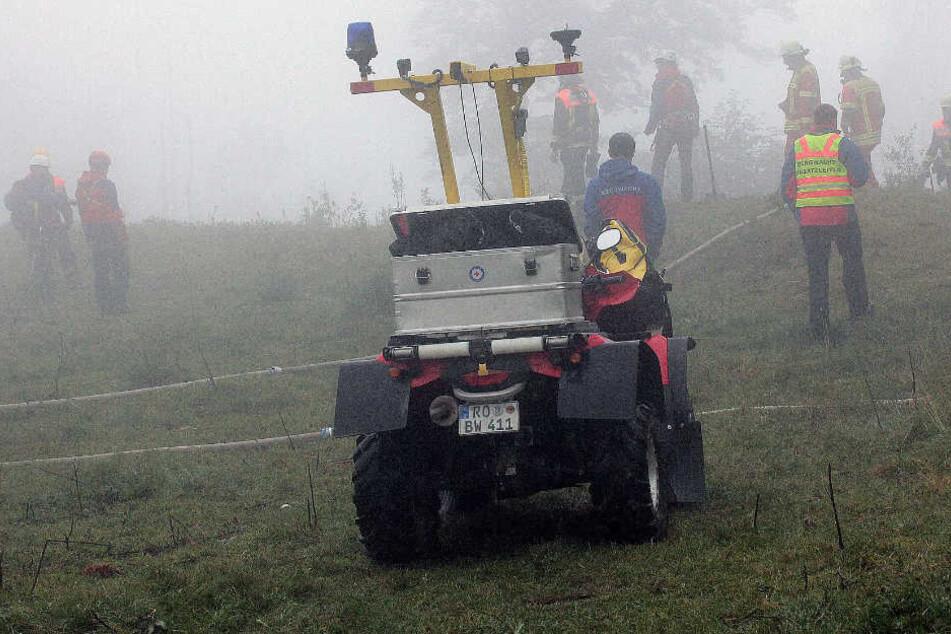 Der Katastrophenfall wegen eines Waldbrandes bei Oberaudorf wurde aufgehoben.
