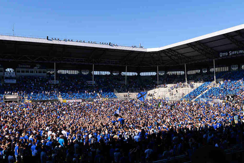 Das Carl-Benz-Stadion ist eine echte Festung. Hier siegte Mannheim dreizehn Mal, holte zwei Remis und verlor nur zwei Partien. 2019 gewann Waldhof hier alle Ligaspiele.