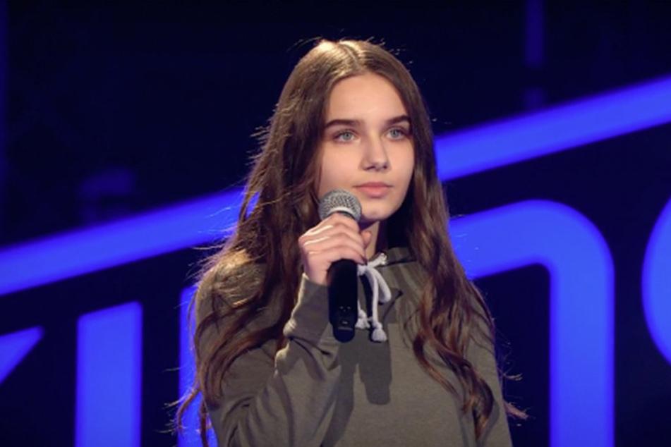 """Mit """"Never Forget You"""" überzeugte Evgenia die Jury."""