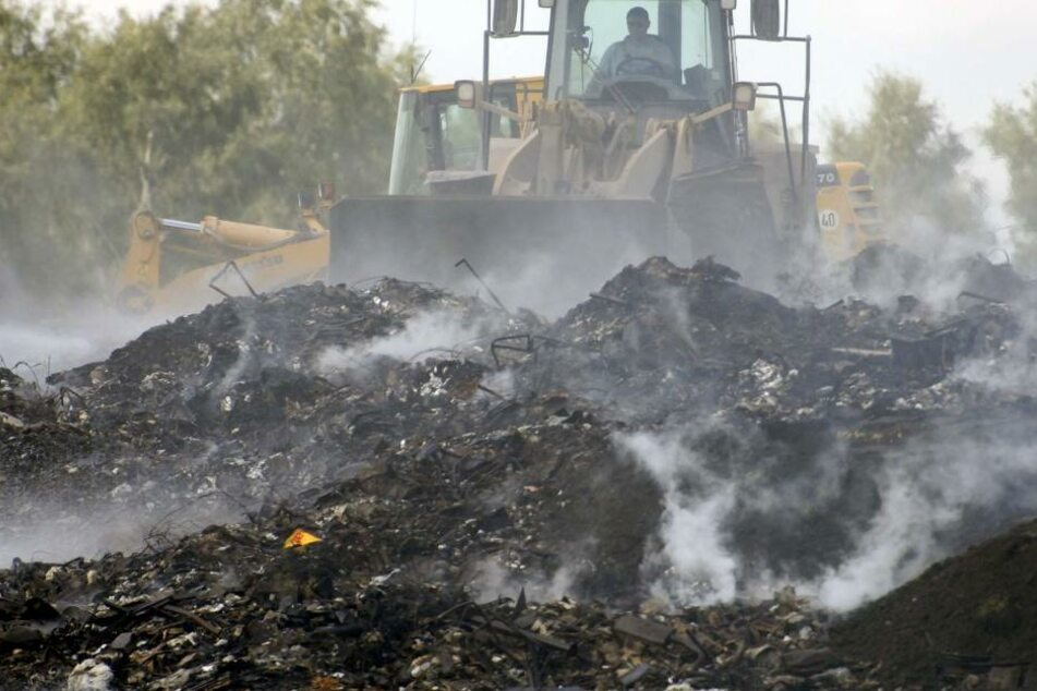 Mann sucht auf Müllhalde nach 80 Millionen Euro