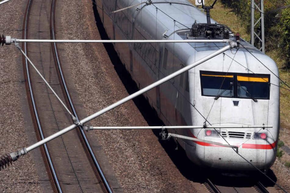 Personenunfall: ICE-Strecke zwischen Stuttgart und Mannheim gesperrt