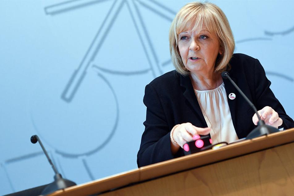 Hannelore Kraft (55) wurde vom Vorstand als SPD-Spitzenkandidatin für die Landtagswahlen bestätigt.