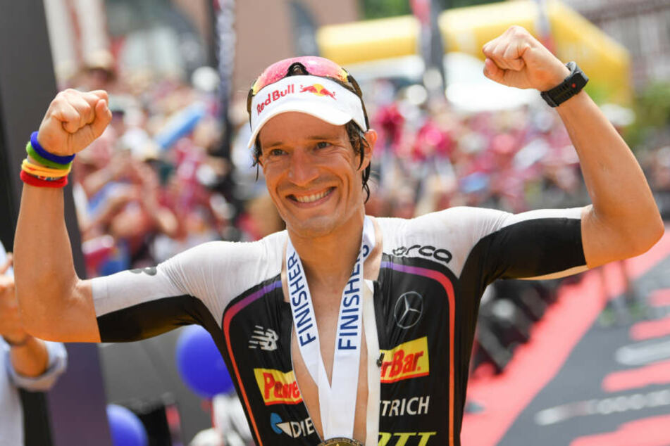 Der deutsche Triathlet Sebastian Kienle.
