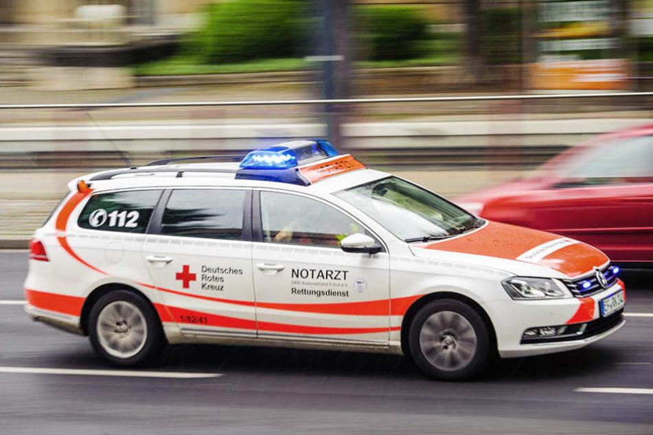 Am Mittwochnachmittag wurde ein Kind von einem Schrankteil am Kopf verletzt.
