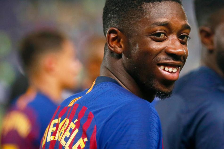Ousmane Dembélé soll beim FC Bayern zum primären Transferziel avanciert sein.