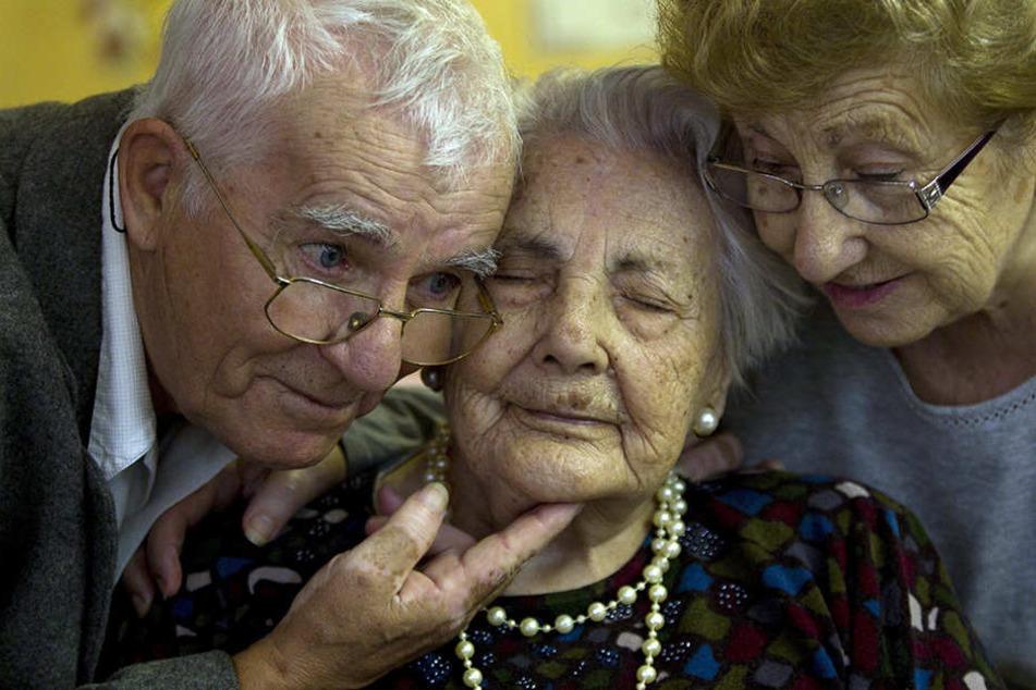Die älteste Frau Europas, Ana Vela Rubio (m), ist gestorben.