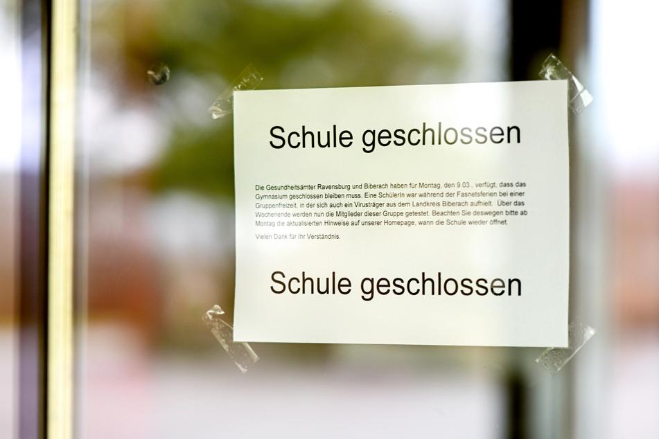 In Deutschland wurden mehrere Schulen geschlossen, um die Ausbreitung des Virus einzudämmen.