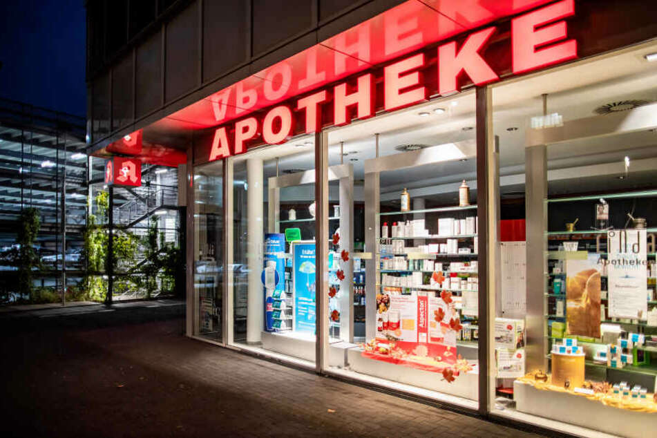 Die Heilig-Geist Apotheke in Köln-Longerich.