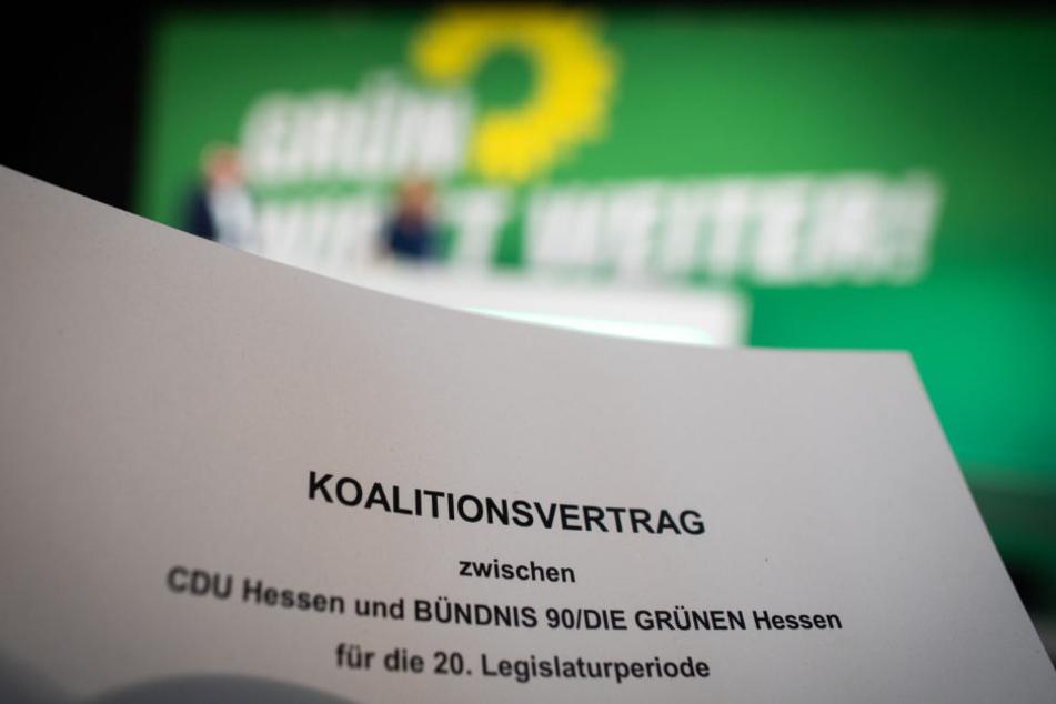 """Hessische CDU sagt sagt """"Ja"""" zum schwarz-grünen Koalitionsvertrag"""