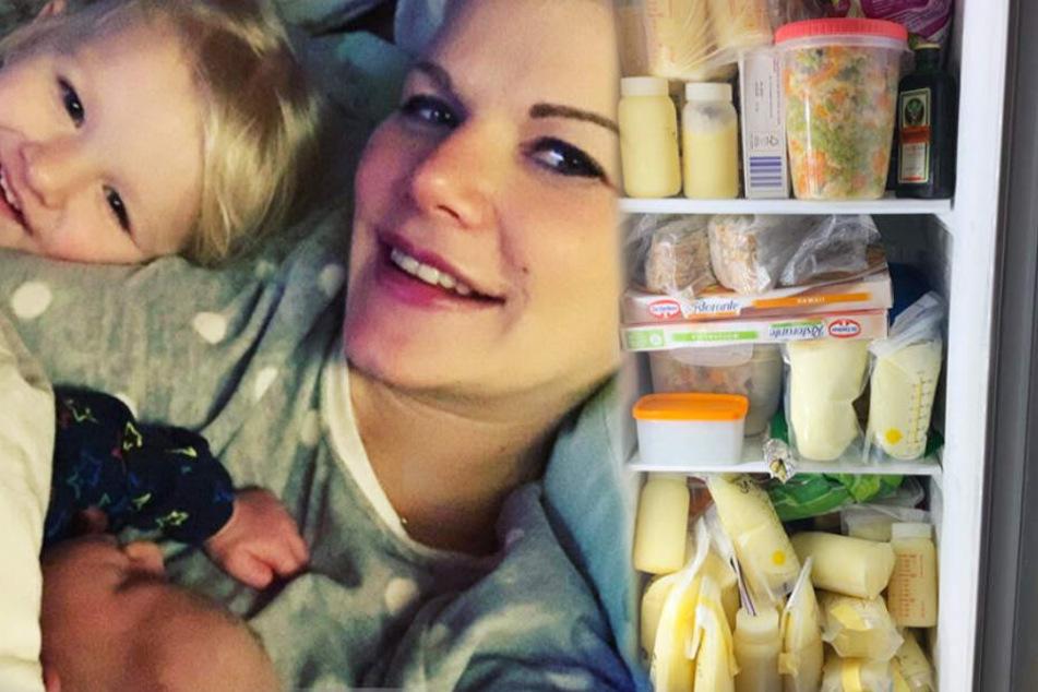 Neben Jägermeister: Melanie Müller hortet Massen an Muttermilch im Tiefkühler