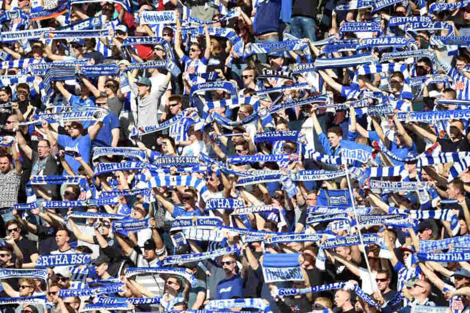 Ein Hertha-Fan muss nun 2000 Euro zahlen.