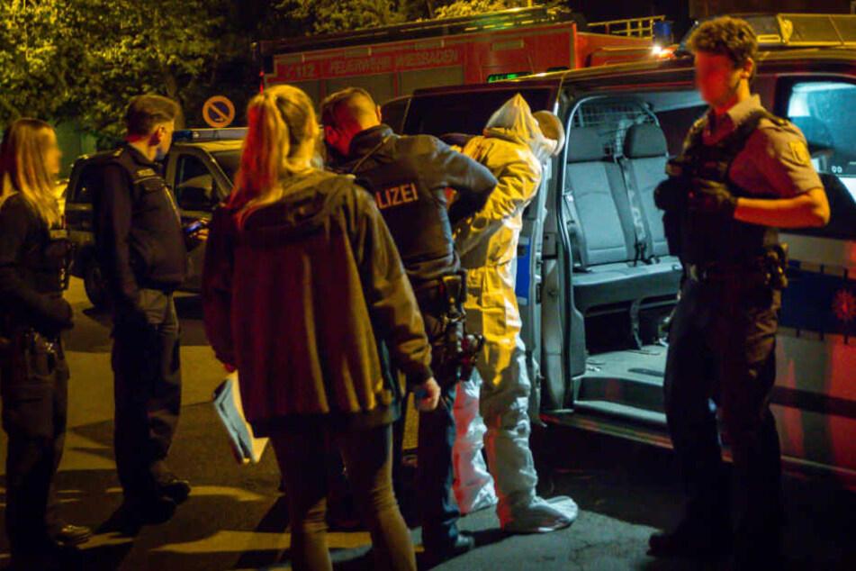Die beiden Männer konnten kurze Zeit später festgenommen werden.