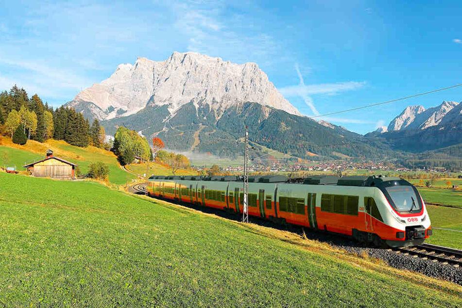 Solche Züge für die Österreichische Bundesbahn werden in Bautzen gefertigt.