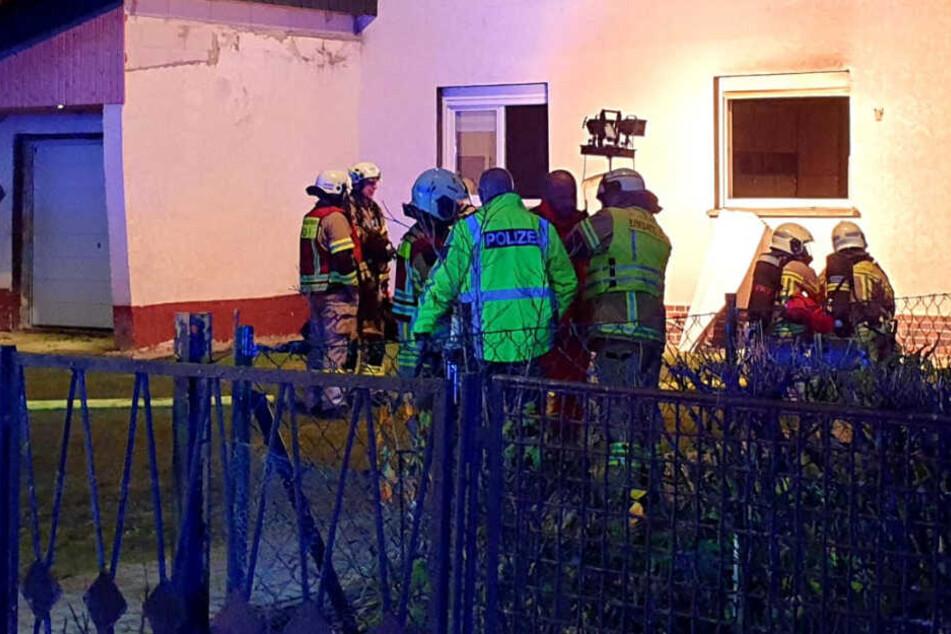 Familiendrama in Falkensee: Mutter (69) stirbt bei Hausbrand