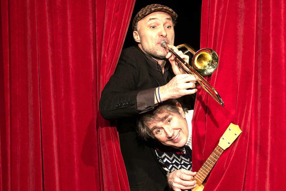 Manfred Breschke hat seine Theater-Anteile schon abgegeben - Micha Winkler (oben) und Thomas Schuch (unten) leiten das Theater.