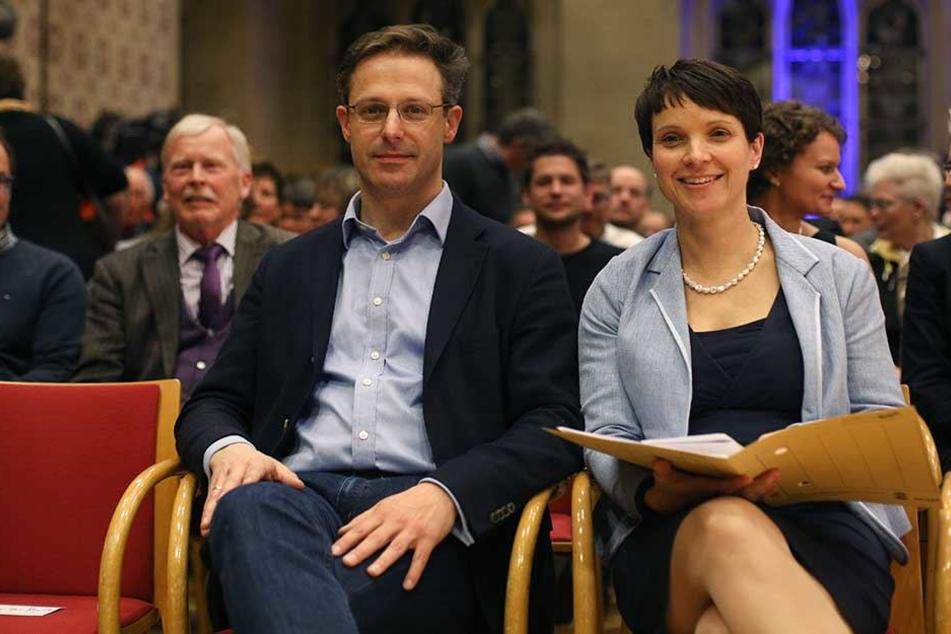 Marcus Pretzell und Frauke Petry sind offenbar Eltern geworden.