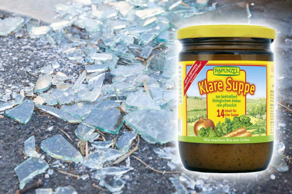 """Rückruf wegen Glassplittern bei Rapunzel """"Klare Suppe"""""""