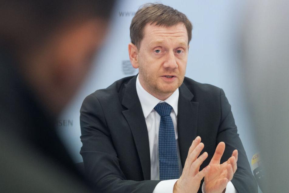 """Ministerpräsident Michael Kretschmer (44, CDU): """"Wir haben jetzt die Chance, Dinge zu tun, die bisher nicht möglich sind."""""""
