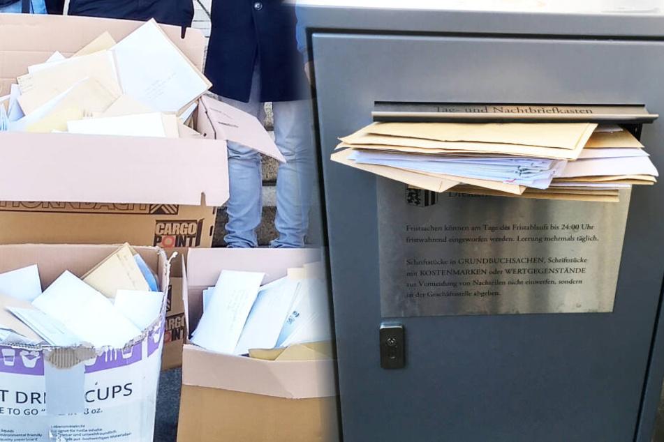 Über 1000 Anträge verstopften den Rathaus-Briefkasten, doch zu holen gibt es nichts!