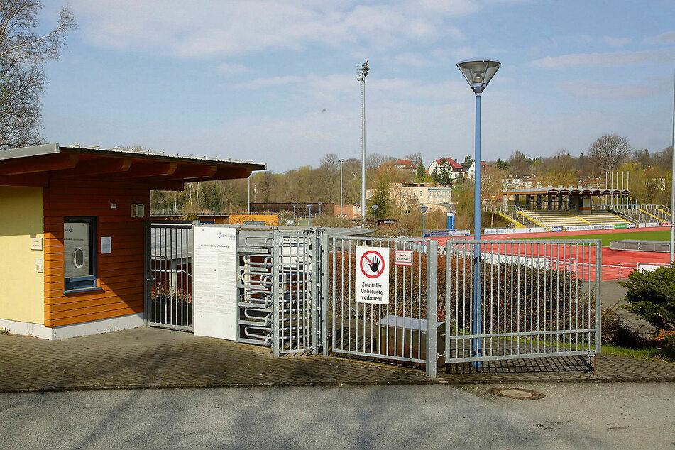 Aus dem Wirtschaftsgebäude am Stadion an der Müllerwiese verschwanden zwei Verstärker.