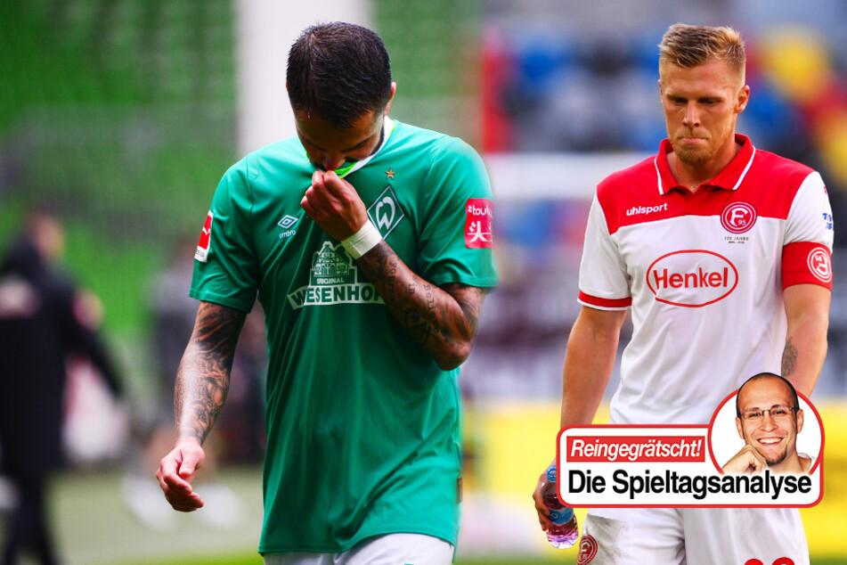 Bundesliga-Kolumne zum Abstiegskampf: Düsseldorfs Schwäche hält Bremen am Leben!