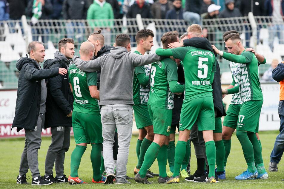 Bald geht's wieder los: Chemie Leipzig startet am Samstag in die neue Saison.