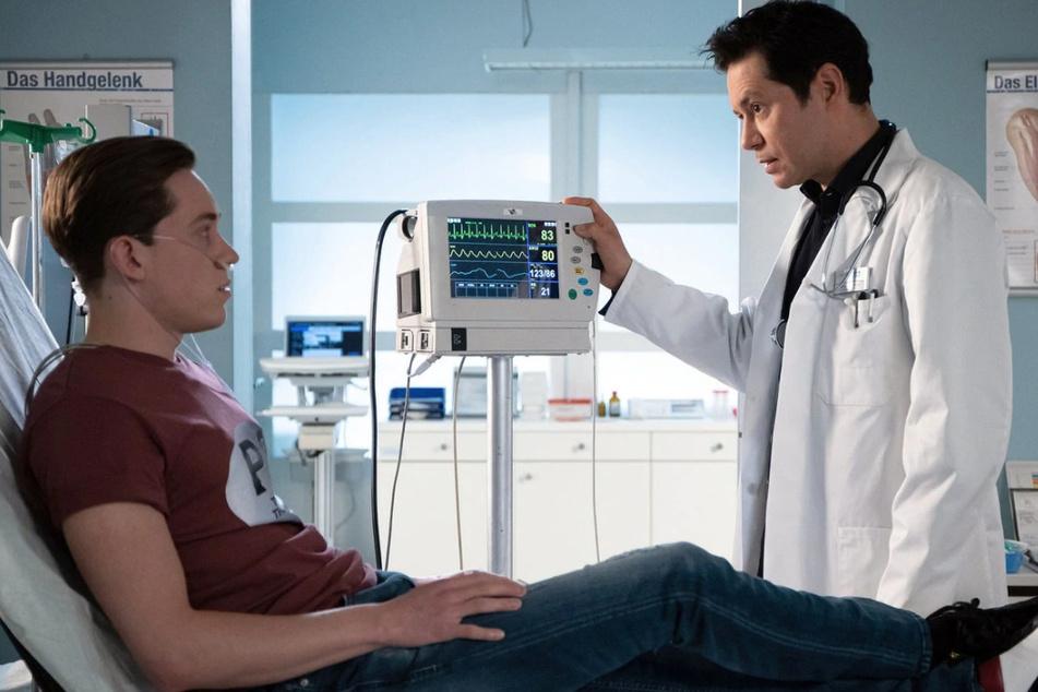 Dr. Philipp Brentano diagnostiziert bei Franjo Kern eine Kohlenmonoxidvergiftung.