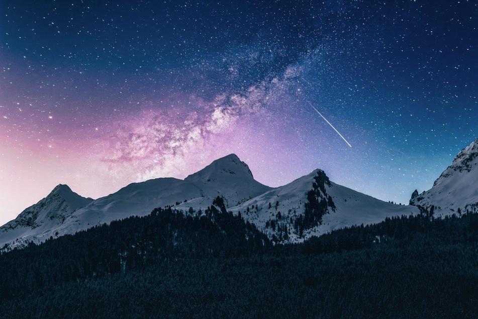 Die ersten Sternschnuppen 2020 kann man vielleicht schon Silvester sehen.