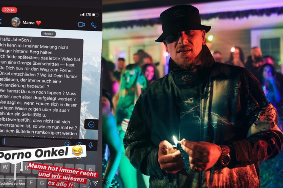 """Blowjob im Musikvideo! Mutter von 187-Boss Bonez MC sauer: """"Porno-Onkel"""""""