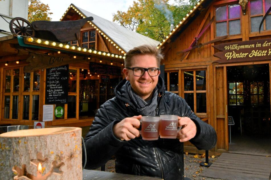 Winterhütten-Chef Josef Dölle (37) hofft auf das Dezembergeschäft.