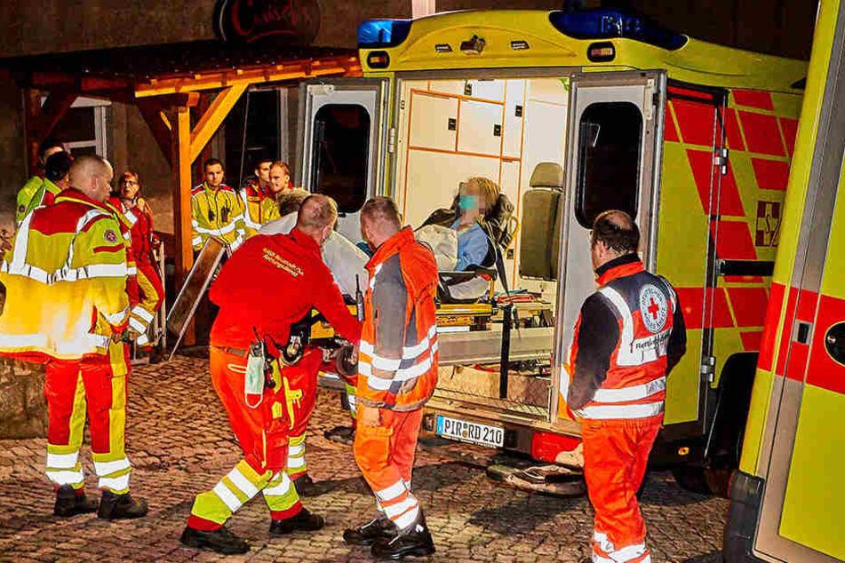 Einige Schüler mussten ins Krankenhaus.