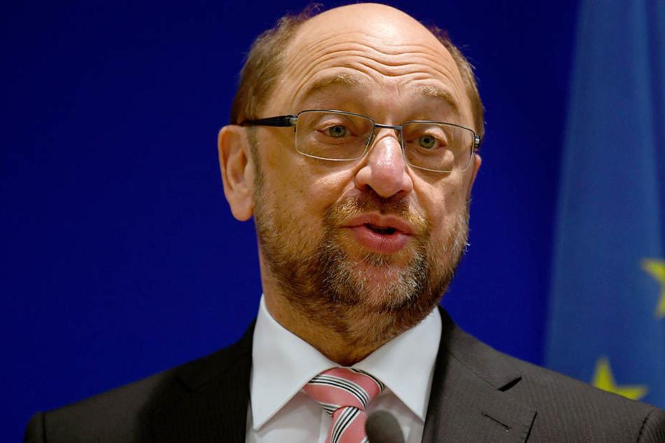 Martin Schulz (61) und seine Parteigenossen sind auf mehr Videoüberwachung großer Menschenmengen aus.