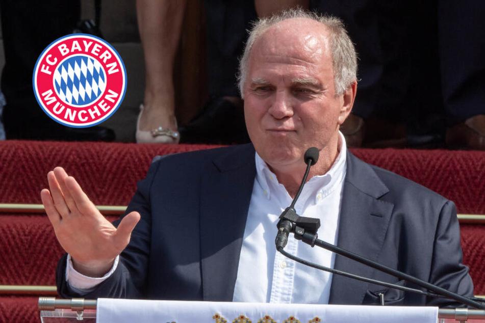 FC Bayern: Heute spricht Uli Hoeneß über seine Zukunft!