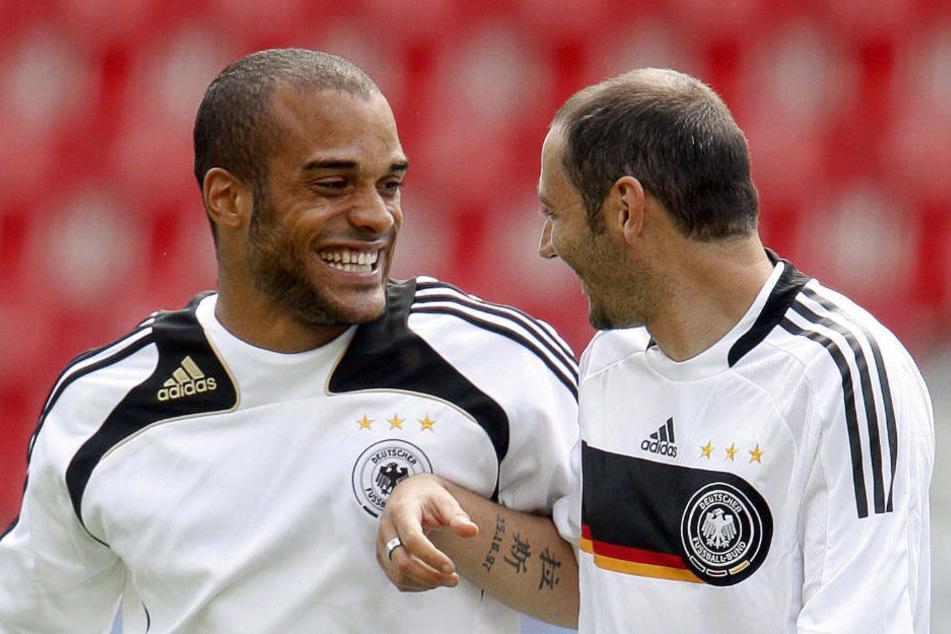 Der gebürtige Bünder (links) darf mit und gegen seine ehemaligen Teamkollegen spielen.