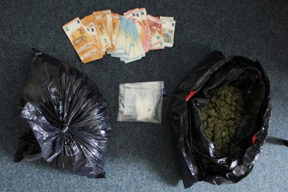 Polizisten finden kiloweise Drogen bei Durchsuchungen in Thüringen