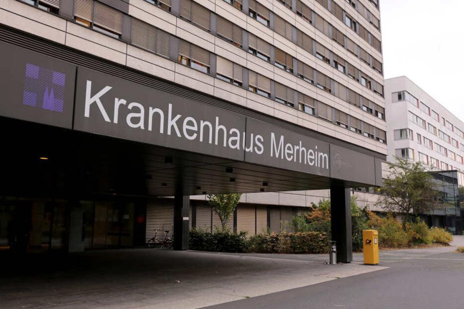 Der Eingang des Krankenhaus Mehrheim.
