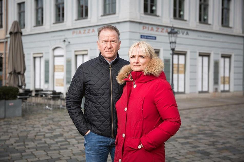 Am 1. Februar begrüßen Janet (45) und und Maik Kosiol (52) ihre ersten Gäste auf dem Theaterplatz.