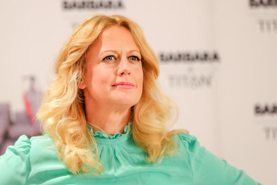 Barbara Schöneberger findet sich selbst zu ungeduldig.