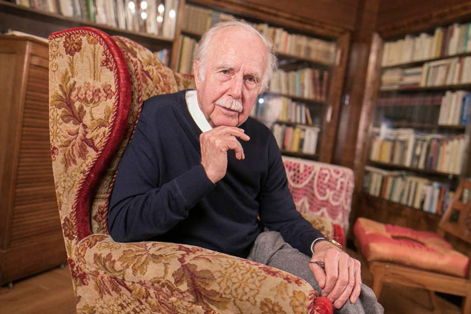Ex-Wirtschaftsbürgermeister Rolf Wolgast (82) konnte gegen die Stadt einen Sieg erringen.