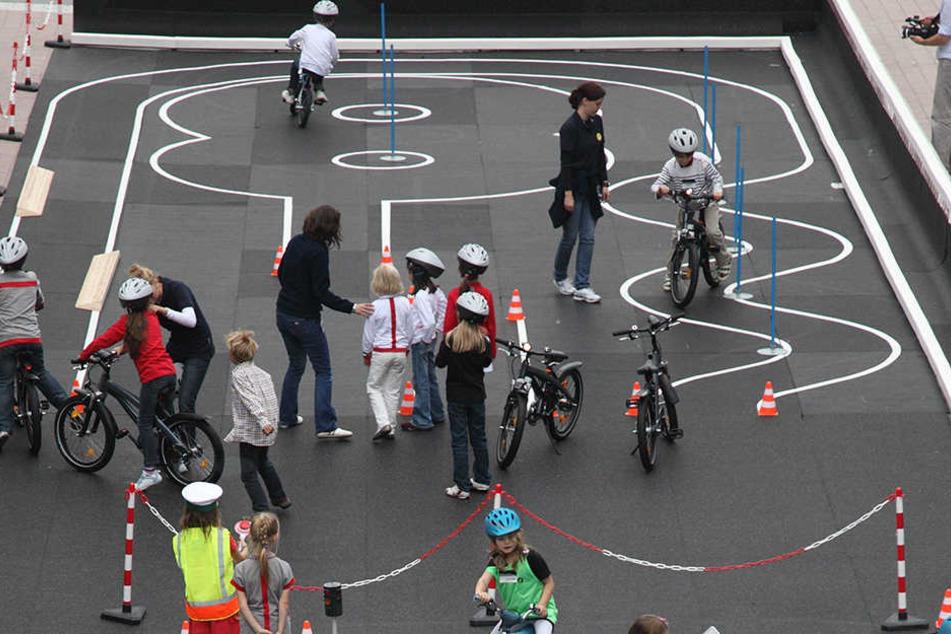 Fest installiert: Die Stadt will einen eigenen Platz für die Radfahrausbildung von Grundschülern errichten.