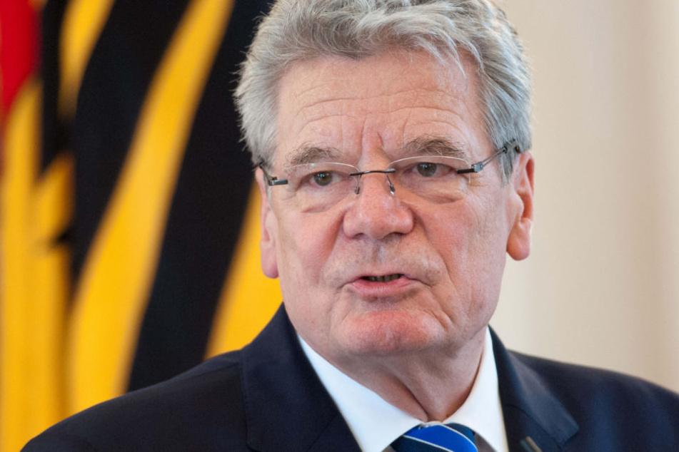 Wird mit dem Carlo-Schmid-Preis ausgezeichnet: Joachim Gauck. (Archivfoto)