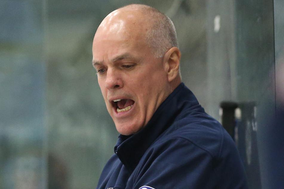 Bill Stewart war nach der Niederlage bei den Bietigheim Steelers sauer.