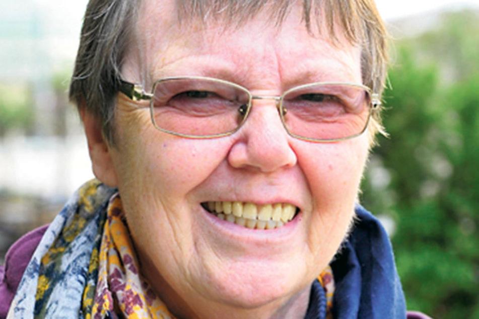"""Sibylle Schmidt (66), Rentnerin aus Oberwiesenthal, hat schon gewählt: """"Meine Stimme hat die FDP bekommen. Ich wollte eine Partei, die wirtschaftliche Stabilität verspricht. Doch ich will auf keinen Fall Merkel - und auch nicht die AfD."""""""