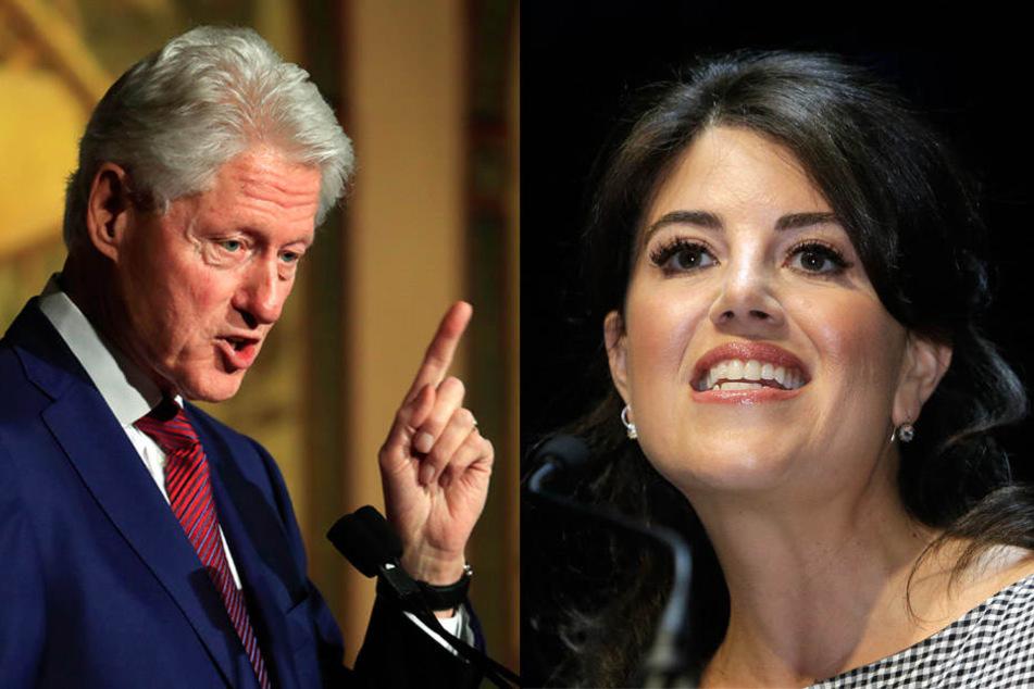 Für Bill Clinton ist Monica Lewinsky offenbar auch nach 20 Jahren noch ein heikles Thema.