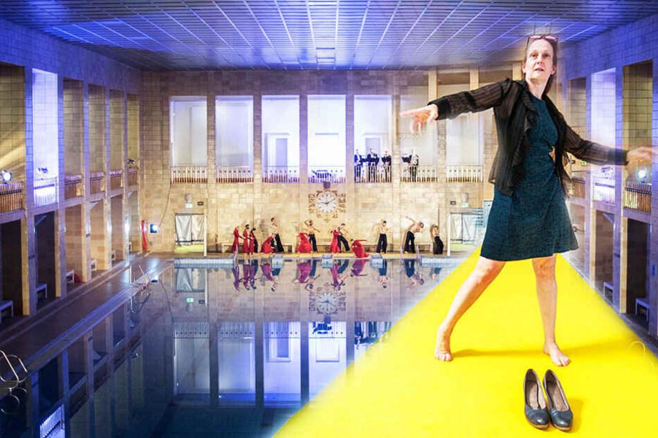 Tanzen statt planschen: Ballett zieht ins Stadtbad!